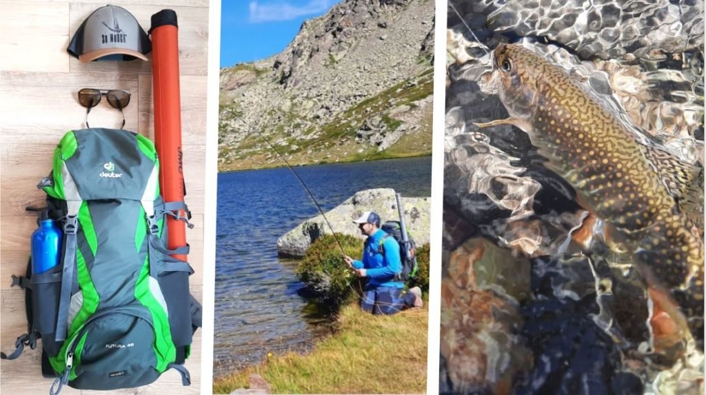 Pêche en lac d'altitude (partie 3) : matériel, techniques et mouches